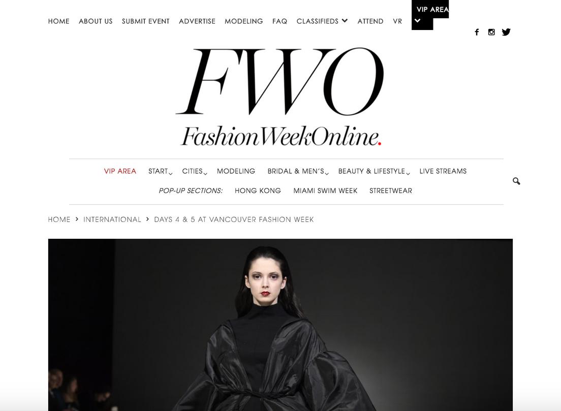 FWO: Fashion Week Online