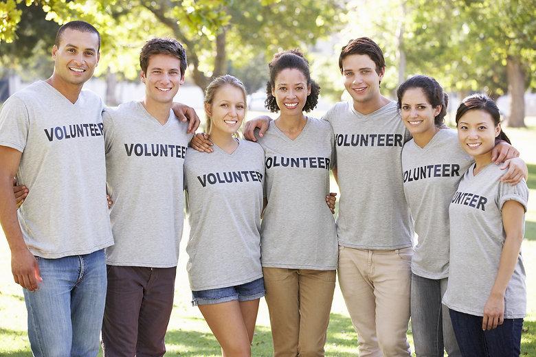 Volunteer Group Clearing Litter In Park.jpg