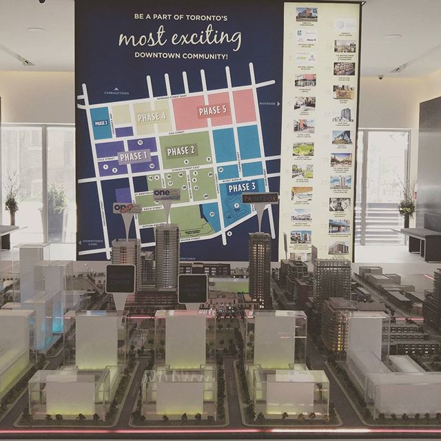 Regent Park Phasing Plan and Master Plan model