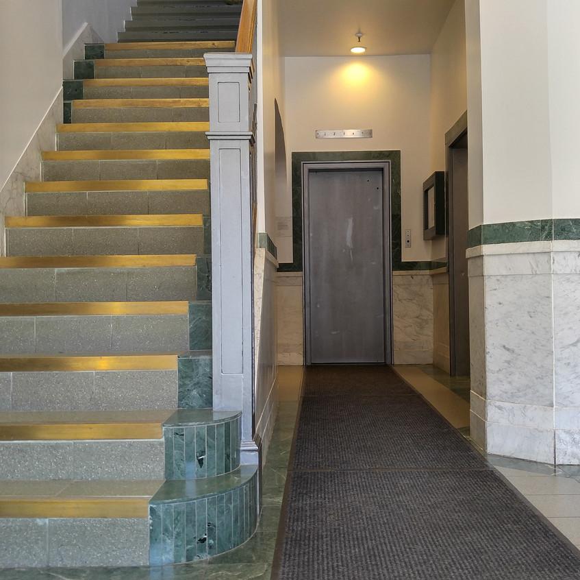 Wrigley Lofts Elevator Lobby