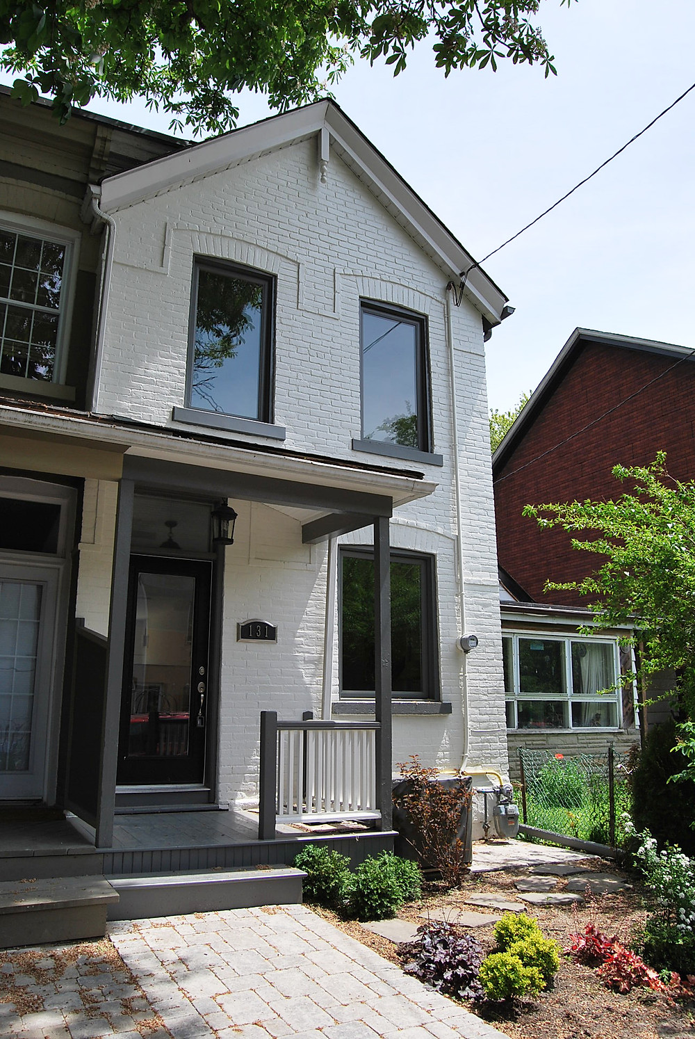 Front of house  with improved curb appeal
