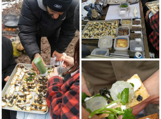 2016 Photo Journal of the Annual Spring Wild Leek and Maple Syrup Festival with 12 Top Toronto Chefs