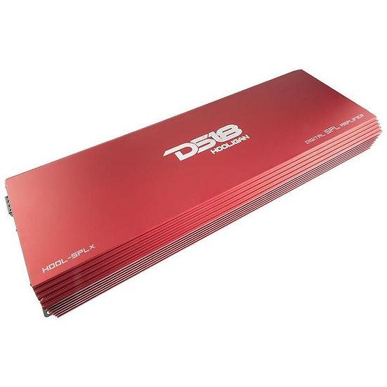 DS18 HOOL-SPLX Hooligan 1 Channel Amplifier 10000W Car Audio Monoblock