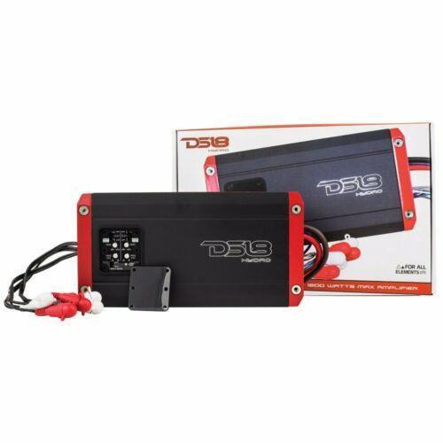 1200 watt Water Proof Marine Amplifier 4 Channel IPX6 DS18 Hydro NXL400.4D