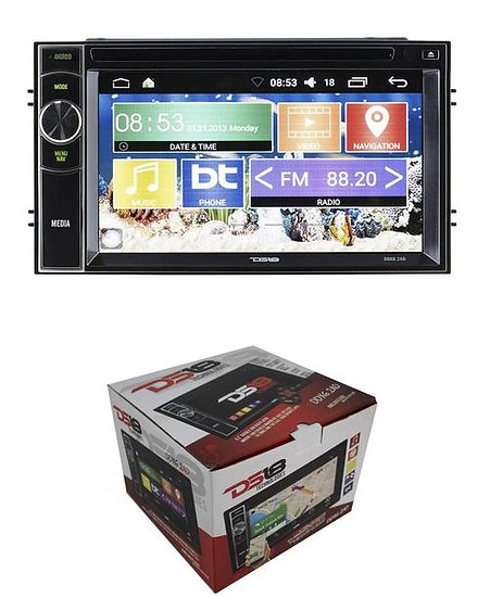 """DS18 Double Din Navigation 6.2"""" Android Touch Screen Bluetooth DVD/MP3/CD DDX6AD"""