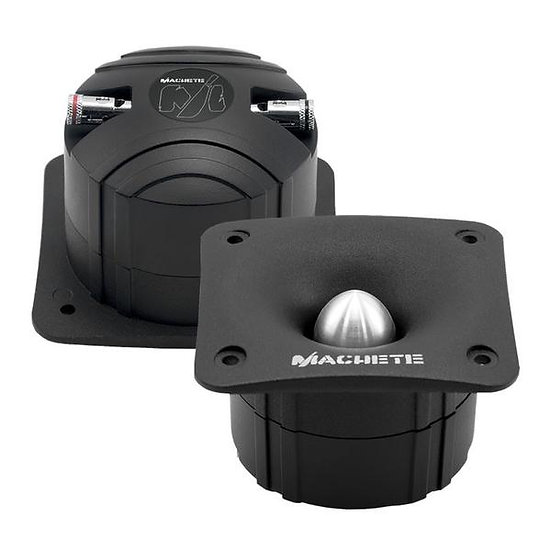 Deaf Bonce Machete MT-30 Black 80 Watts 4-Ohms Super Bullet Tweeter