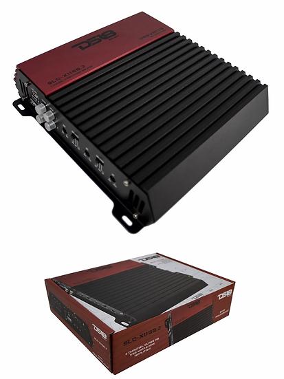 DS18 SLC-X1150.2 1650 Watts 2 Channel Car Audio Speaker Amplifier