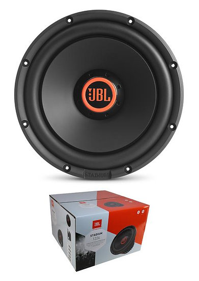 """JBL 12"""" 1500W Switchable 2 or 4 Ohm High Performance Subwoofer Stadium 1224"""