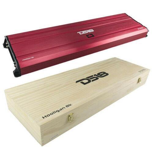 8000W Rms Monoblock SPL Amplifier Competition Subwoofer Amp DS18 HOOLIGAN-8K