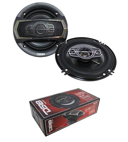 "SLC-N65X DS18 6.5"" 4-way Car Audio Door Speakers 400 Watts 4 Ohm Coaxial"