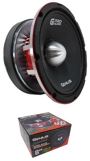 "8"" Midrange Midbass 4 Ohm 600W Pro Bullet Speaker Genius Audio GPRO-M128"