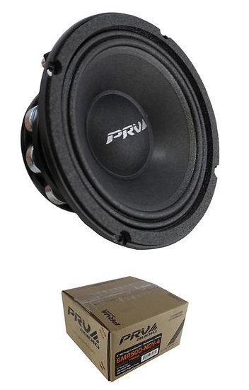 "6"" PRV Audio 6MR500-NDY-4 Neodymium Mid Range 4 Ohm 500W Car Audio Speaker"