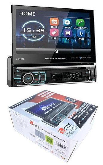 "7"" Flip Out Bluetooth Radio CD/DVD MP3 USB Single Din Touch Screen PD-721B"