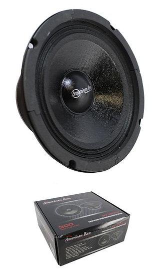 """6.5"""" Midrange Midbass Speaker 300W 8 Ohm American Bass SQ-65CB-X"""