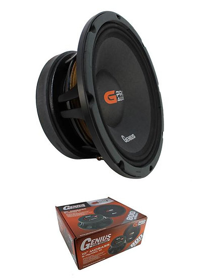 "10"" Midbass Speaker 800W 8 Ohm Pro Car Audio Genius G-PAPRO 10"