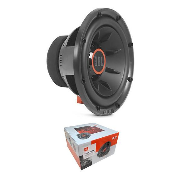"""JBL Club Series 10"""" 1000 Watts Selectable 2 or 4 Ohm Subwoofer CLUB 1024"""