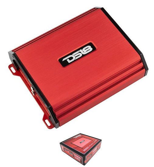 DS18 Select Red 1100 Watt 2 Channel Full Range Class AB Amplifier S1100.2