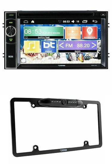 """DS18 Double Din Navigation 6.2"""" Android Touch Screen Back up Camera DDX6AD RCCP"""