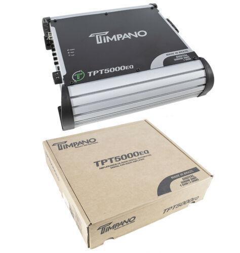 5600W 1Ch Digital Bass Amplifier 1 ohm Car Audio Amp Built-in EQ TPT5000EQ-1