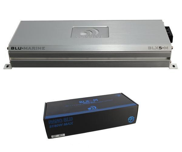 2100W 5 Ch Micro Marine Digital Amplifier w/ BT Waterproof Massive BLX5