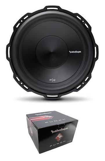 "Rockford Fosgate 12"" Punch 800 Watt Dual 2 Ohm Voice Coil SubWoofer P2D2-12"