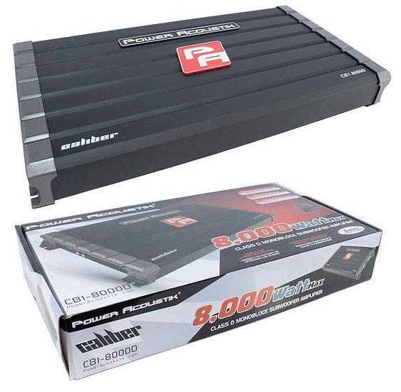 8000 Watt Monoblock Class D Car Audio Subwoofer Amplifier 1 ohm Bass Amp CB1