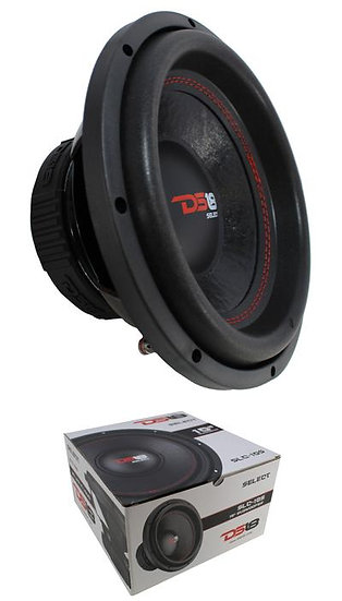 "10"" Subwoofer 440W 4 Ohm Single Voice Coil Bass Pro Car Audio DS18 SLC-10S"