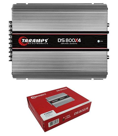 Taramps DS800X4 Full Range 2 Ohms 800W 4 Channel Class D Car Audio Amplifier