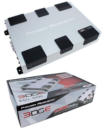 1500 Watt 4 Channel Class A/B Full Range Car Stereo Amplifier Bridgeable EG4