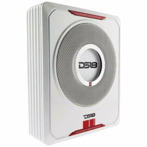 "8"" 600W Under-Seat Car Sub woofer Powered Bass Amplifier Slim DS18 SQBASS"