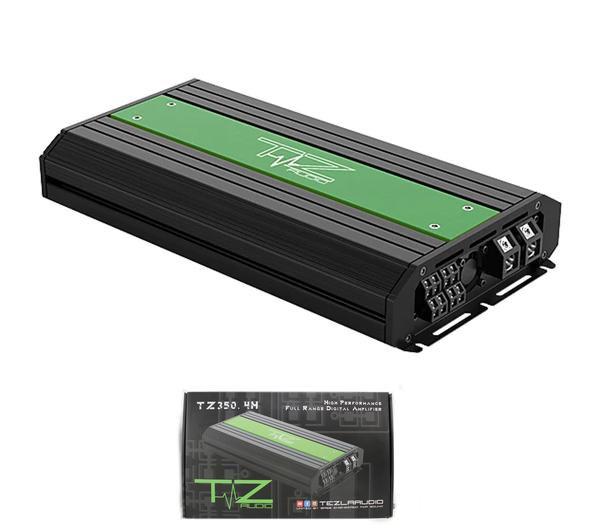 Tezla Audio 1060 Watts 4-Channel Class D Full Range Amplifier TZ350.4H