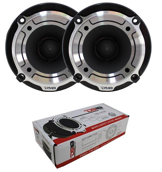 """DS18 PRO-TW120 1"""" SUPER TWEETER HIGH COMPRESSION SILVER BULLET 600W PAIR"""