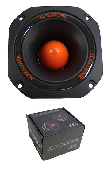 "4.5"" Alphasonik 4 Ohm Pro Car Audio 400 Watt Bullet Tweeter ABT22"