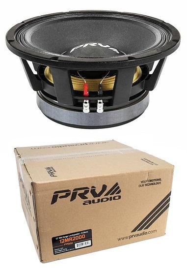 "12"" PRV Full Loud 12MR2000 Pro Audio Midrange Midbass 2000W 8-Ohm Woofer Speaker"