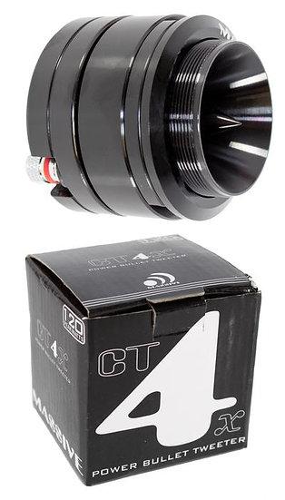 "2"" Power Bullet Tweeter Super High Compression Neodymium Massive Audio CT4X"