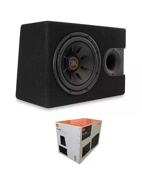 """JBL 1000 Watts 4 Ohm 10"""" Car Audio Subwoofer Enclosure with Slipstream Port S2-1"""