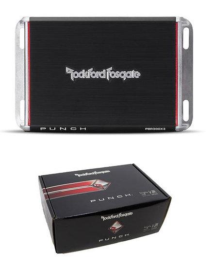 Rockford Fosgate Punch 300 Watt 2-Channel Amplifier PBR300X2