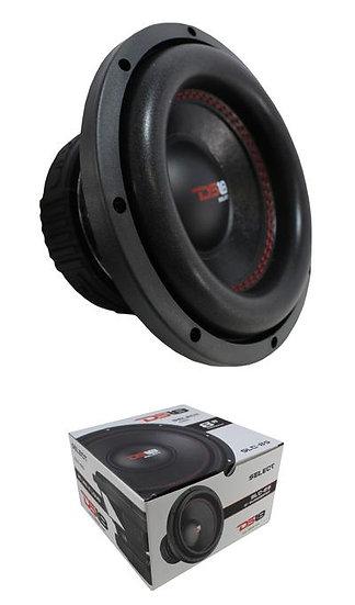 """8"""" Subwoofer 400W 4 Ohm Single Voice Coil Bass Pro Car Audio DS18 SLC-8S"""