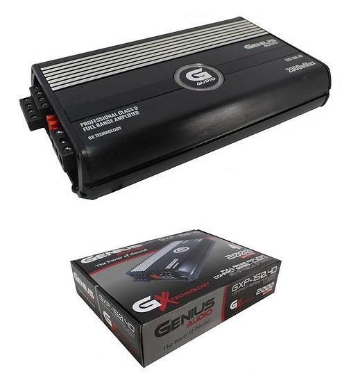 Genius Audio GXP-150.4D 2000W Full Range 2 Ohm Amplifier 4 Channel Class D