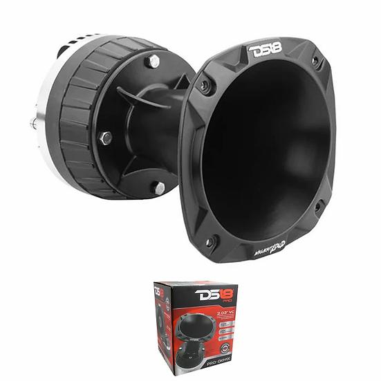 """DS18 2"""" 640W 8 Ohm Bolt On Titanium Compression Driver & Aluminum Horn Kit DKH1X"""