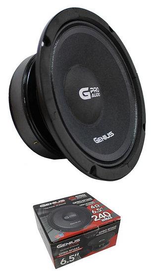 "6.5"" Midrange Pro Speaker 4 Ohm 240 Watt Genius Audio GPRO-M1665"
