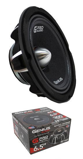 """6.5"""" Midrange Neodymium Pro 4 Ohm 300W Bullet Speaker Genius Audio GPRO-M0665"""