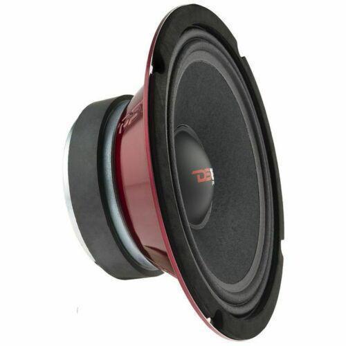"DS18 550W 8"" Midrange Full Range Speakers Loud Sealed Back 8 Ohm PRO-X8MSE"