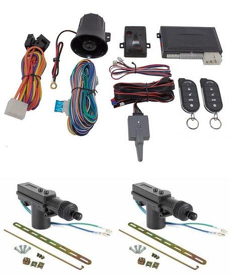 Car Alarm Anti Theft Keyless Entry + 2 Door Lock Remote Control Scytek Galaxy G5