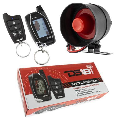 2 Way Keyless Entry LCD Remote Start Car Alarm Security System 1000 Meters DS18
