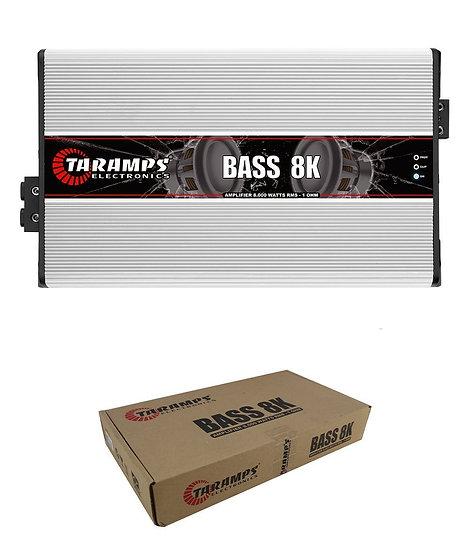 Taramps BASS8K 1 Ohm 8000W 1 Channel Amplifier Class D Car Audio