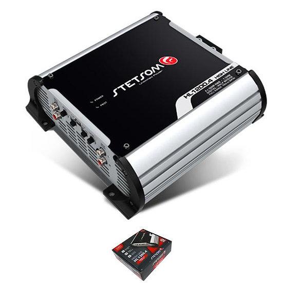 Stetsom 4 Channel 1200 Watt 2 Ohm Full Range Class D Amplifier HL 1200.4