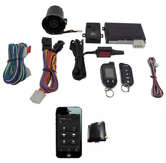 2 Way Car Alarm Anti Theft Security System G777 + G3 GPS Tracking Mobilink Scyte
