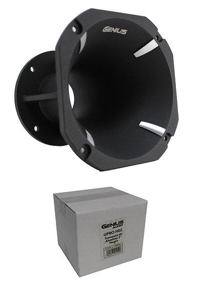 Genius Audio GPRO-H02 6 x 6 Aluminum Bolt On Horn Car Audio Trumpet