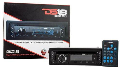 Single Din Radio CD, MP3, AUX, AM/FM Receiver Stereo Player USB